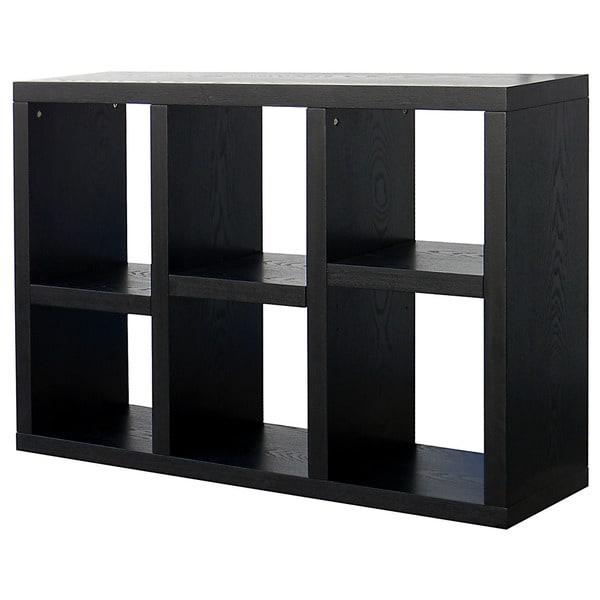 Richdale  Cube Dark Espresso Bookcase Free Shipping Today