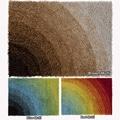 Mandara Hand-woven Multicolor Shag Rug (3' x 5')