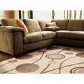 "Mandara Contemporary Geometric Rug (7'10"" x 10'6"")"