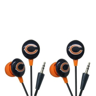 iHip Chicago Bears NFL Mini Ear Buds (Pack of 2)
