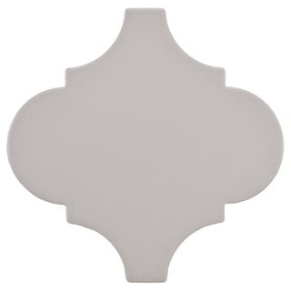 SomerTile 8x8 Morocco Provenzale Grey Porcelain Floor and Wall Tile (Pack of 16)