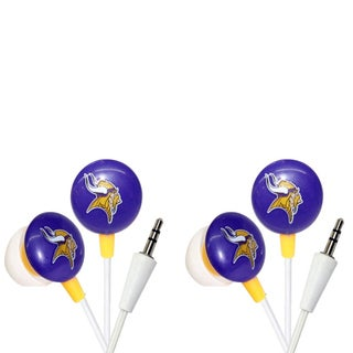 iHip NFL Team Mini Ear Buds (Pack of 2)