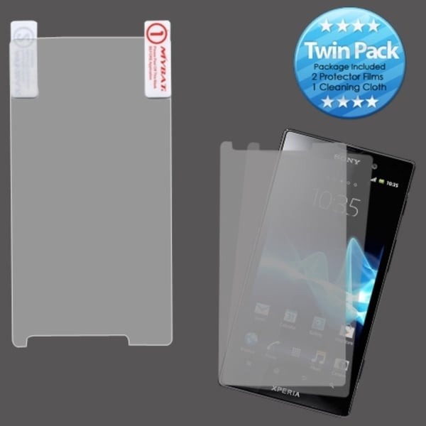INSTEN Clear Screen Protector Twin Pack for Sony Ericsson TL30AT Xperia TL