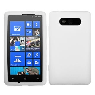 BasAcc Solid White Skin Case For Nokia 820 Lumia