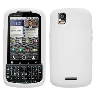 BasAcc Solid White Skin Case For Motorola XT610 Droid Pro