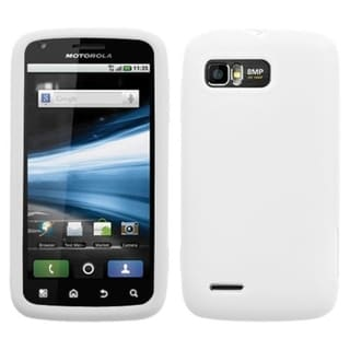 BasAcc Solid White Skin Case For Motorola MB865 Atrix 2