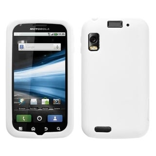 BasAcc Solid White Skin Case For Motorola MB860 Olympus/ Atrix 4G