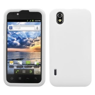 BasAcc Solid White Case For LG LS855 Marquee