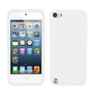 INSTEN Solid White Skin iPod Case Cover for Apple iPod Touch