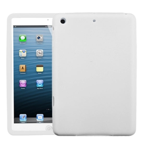 INSTEN Solid White Skin Tablet Case Cover for Apple iPad Mini