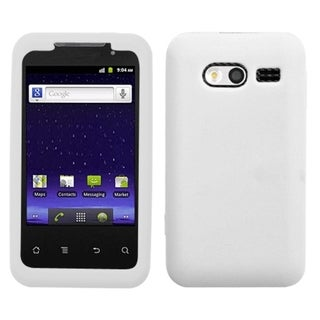 BasAcc Solid White Skin Case For Huawei M920 Activa 4G