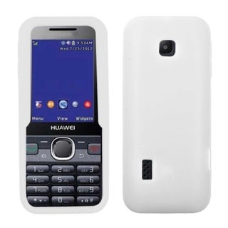 BasAcc Solid White Skin Case For Huawei M570 Verge