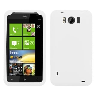 BasAcc Solid White Skin Case For HTC X310a Titan