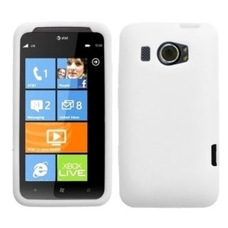 BasAcc Solid White Skin Case For HTC Titan II