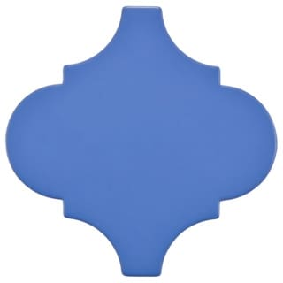 SomerTile 8x8 Morocco Provenzale Blue Porcelain Floor and Wall Tile (Pack of 16)
