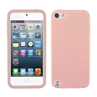 INSTEN Solid Pink Skin iPod Case Cover for Apple iPod Touch