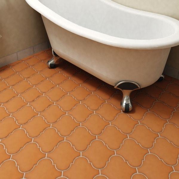 8 inch floor tile
