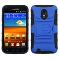 BasAcc Blue/ Black Armor Stand Case For Samsung� D710 Epic 4G Touch