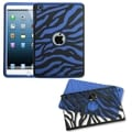 BasAcc Black Zebra Skin/ Dark Blue Fusion Case For Apple� iPad Mini