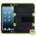 BasAcc Black/ Electric Green Tuff Hybrid Case For Apple� iPad Mini