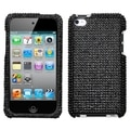 BasAcc Black Diamante Case For Apple iPod Touch Generation 4