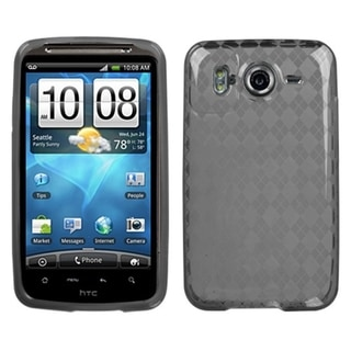 BasAcc Smoke Argyle Pane Candy Skin Case For HTC Inspire 4G