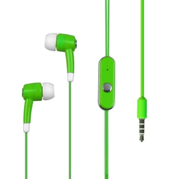 INSTEN Apple Green Stereo Hands-free 914 ForZTE E520 Agent