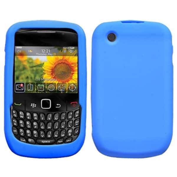 INSTEN Dark Blue Phone Case Cover for Blackberry 8520/ 8530/ 9300 3G/ 9330 3G