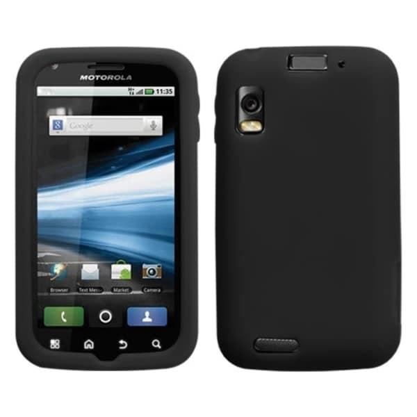 BasAcc Solid Black Skin Case For Motorola MB860 Olympus/ Atrix 4G