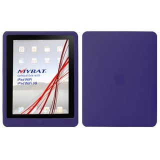 BasAcc Solid Dark Purple Skin Case For Apple iPad