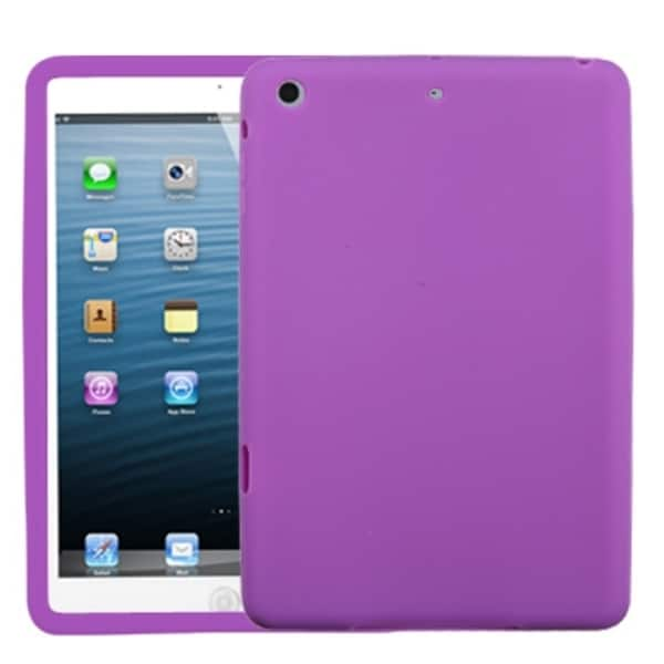 INSTEN Solid Electric Purple Skin Tablet Case Cover for Apple iPad Mini