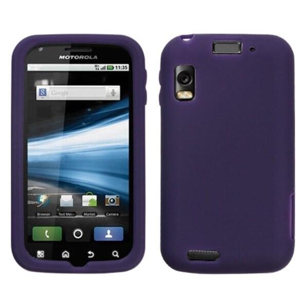 BasAcc Dark Purple Skin Case For Motorola MB860 Olympus/ Atrix 4G