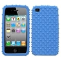 BasAcc Solid Dark Blue/ Dots Skin Case For Apple iPhone 4S/ 4