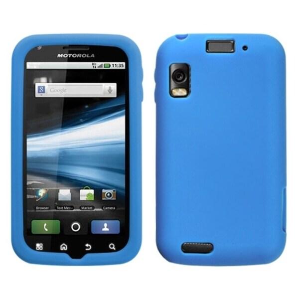BasAcc Solid Dark Blue Skin Case For Motorola MB860 Olympus/ Atrix 4G