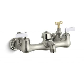 Knoxford Service Sink Faucet with Loose-key Stops and Lever Handles