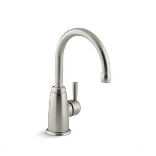 Wellspring Vibrant Brushed Nickel Contemporary Beverage Faucet