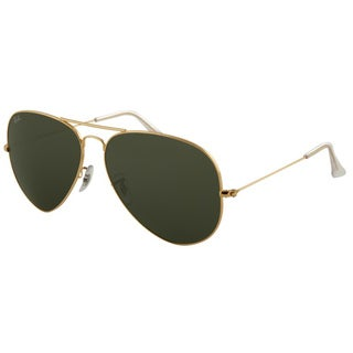 Ray Ban RB3026 Large Aviator II Gold Sunglasses