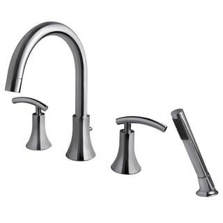 Fontaine Vincennes Chrome Roman Tub Faucet with Handheld Shower