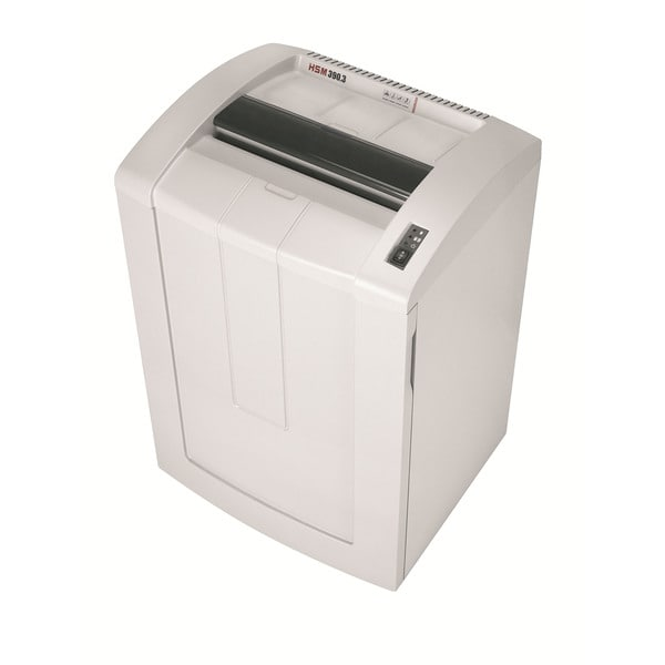 HSM Classic 390.3c, 25-27 sheets, cross-cut, 39-gallon capacity