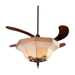 Fanimation Air Shadow 43-inch Oil-rubbed Bronze Retractable 3-light Ceiling Fan
