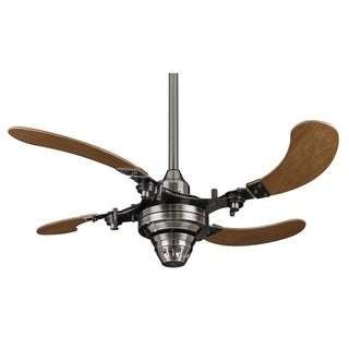 Fanimation Air Shadow 43-inch Pewter Retractable Ceiling Fan
