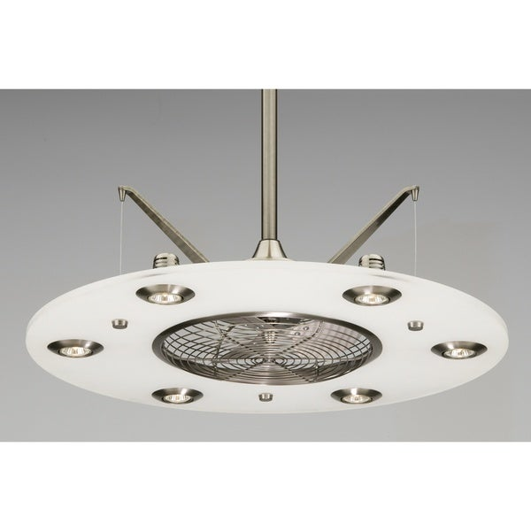 Fanimation Cumulos Pewter 6-light Ceiling Fan