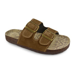 Muk Luks Women's 2-buckle Terra Turf Sandals