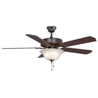 Fanimation Aire Decor 52-inch Oil-rubbed Bronze 4-light Ceiling Fan