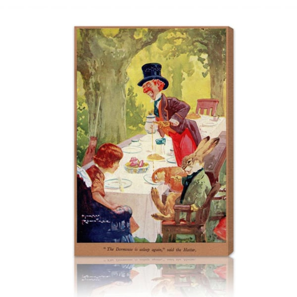 Oliver Gal 'The Dormouse' Canvas Art