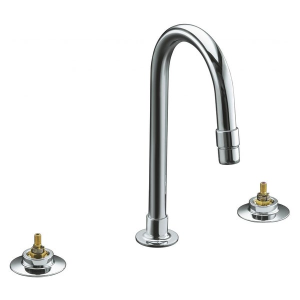 Triton Widespread Lavatory Faucet with Rigid Connections