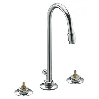 Triton Widespread Lavatory Faucet with Gooseneck Spout