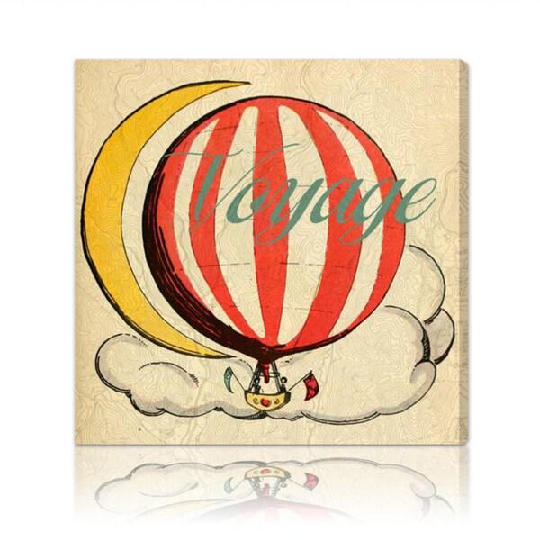 Oliver Gal 'Voyage Enfants' Canvas Art