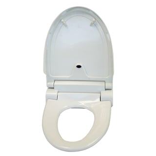 iTouchless White Touch-free Sensor Controlled Automatic Toilet Seat