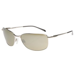 Serengeti Men's 'Agata' Shiny Silver Sunglasses
